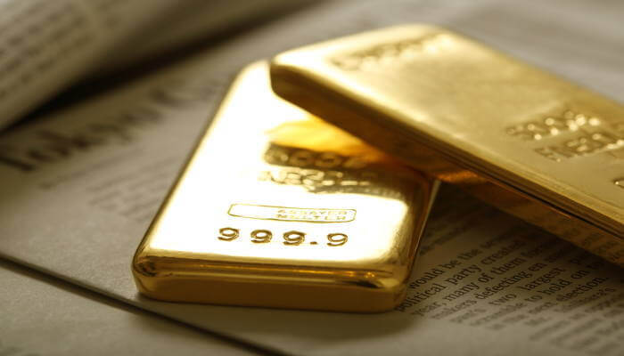 隠された純金のイメージ