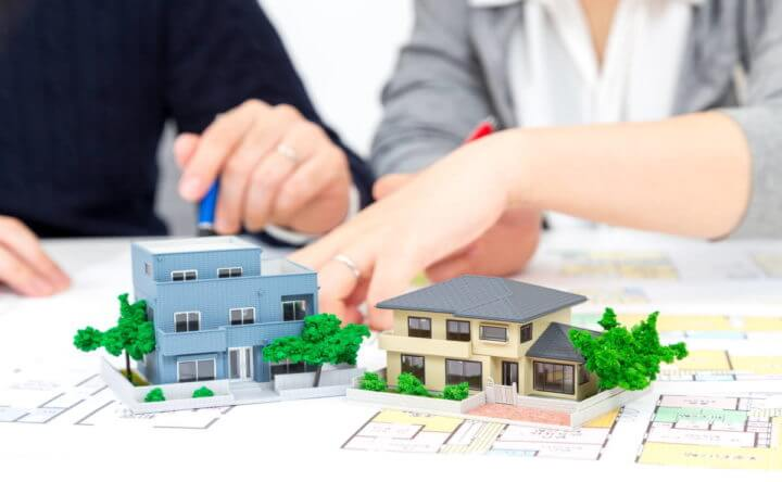 二世帯住宅の設計